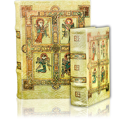 Book-Box with image from the Book of Celts