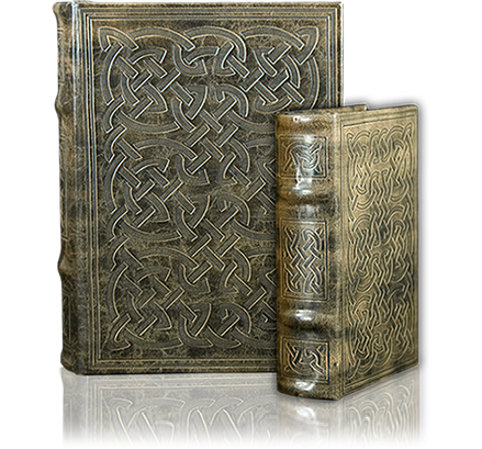 Book Box with Celtic Knots