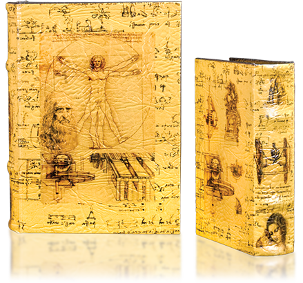 Leonardo da Vinci Book-Box