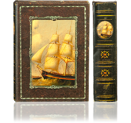 Sailing Boat Book Box
