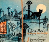 Advertisement for the Chat Noir