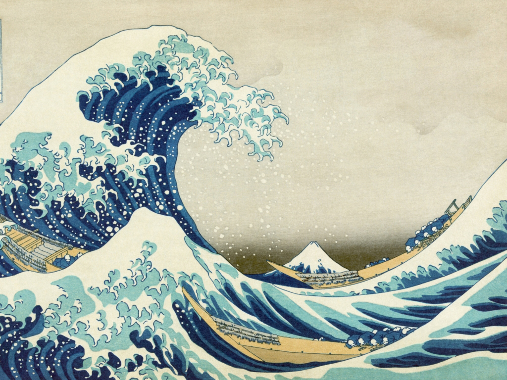 Hokusai S Great Wave Book Box Shop